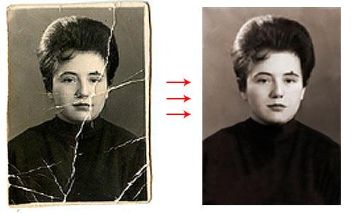 Реставрация фотографий 8-design